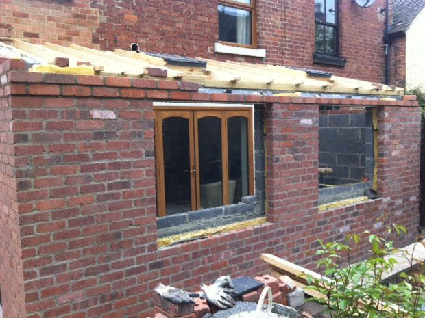 Kitchen Utility Extension In Progress: Swipe To View More Images