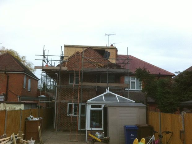 Loft Conversion In Progress: Swipe To View More Images