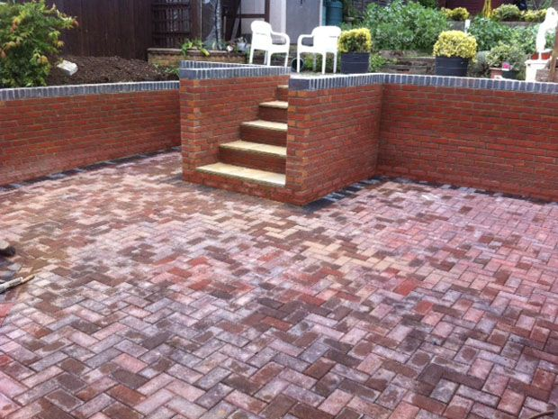 Retaining Wall Steps Patio After: Swipe To View More Images