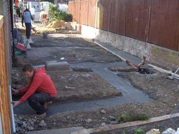 New Build Footings & Drainage Installed: Swipe To View More Images