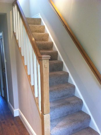Oak Staircase: Swipe To View More Images