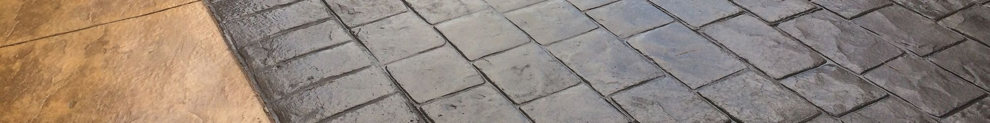 Imprinted Concrete Driveways & Patios