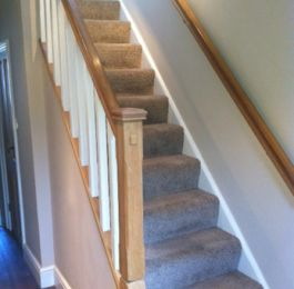 Oak Staircase: Click Here To View Larger Image